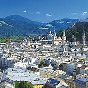 Blick auf die Stadt Salzburg © Österreich Werbung / Weinhaeupl W.