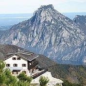 © Landhotel Das Traunsee/ Cristof Wagner - hauseigene Berghütte am Feuerkogel