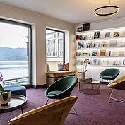 Bibliothek im Landhotel Das Traunsee