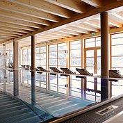Hallenbad & Wellnessbereich in Wagrain