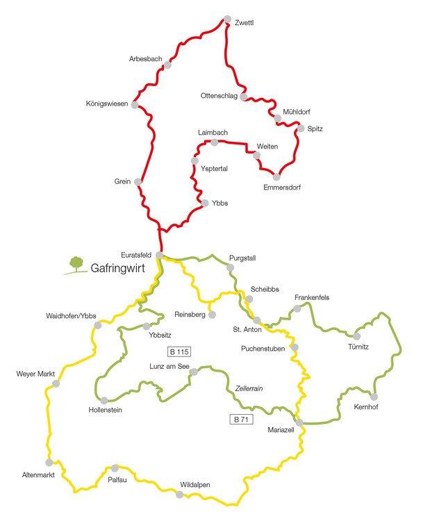 Die schönsten Motorrad-Touren in Niederösterreich