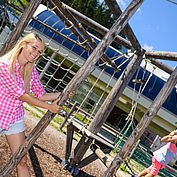 © TVB Abtenau - Kinderspielplatz mit Hochseilgarten