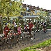 Familienausfahrt mit den Rädern