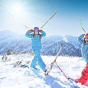 Kinderspaß im Schnee,  © Ski amadé