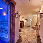 Relaxen im Eichspa mit Sauna, Infrarotkabine und Dampfbad