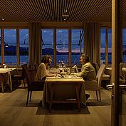 Abendessen im Restaurant Bootshaus