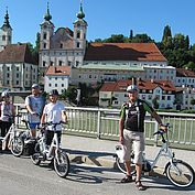© E-mobility Steyr - E-Bike Touren von Steyr in den Nationalpark Kalkalpen
