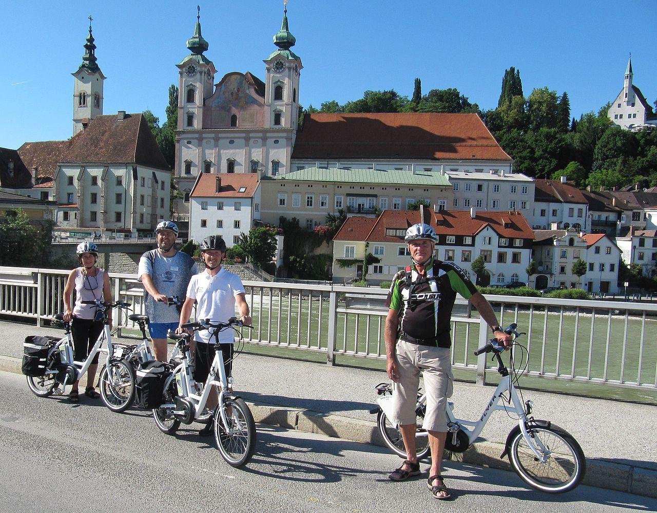 В Австрии хорошо развита система велосипедного проката