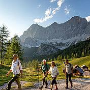 Wandern Alm Ramsau am Dachstein © Tom Lamm