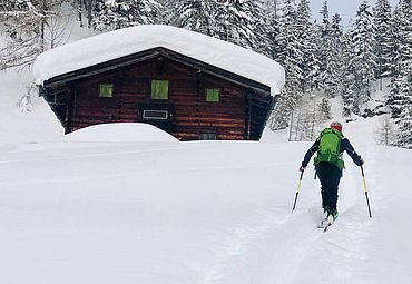 Skitour im Salzburger Saalachtal
