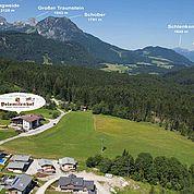 © Landhotel Salzburger Dolomitenhof - Bergpanorma