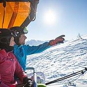 gemeinsame Tage beim Skilaufen