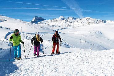 Schneeschuhwandern, Dachstein Krippenstein, (c) Schoepf