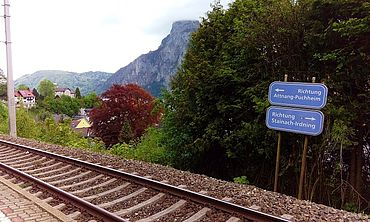Mit der Bahn direkt in Traunkirchen Ort anreisen