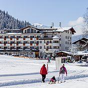 Landhotel Tirolerhof - Skipiste - Winterwandern - Langlaufen