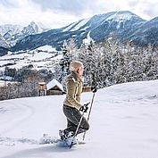 Winterlandschaft rund um die Traunseehotels