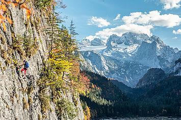 Klettersteig Gosausee, (c) Rudi Kain Photografie