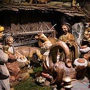 hoteleigene Krippe rund um die Advent- und Weihnachtszeit
