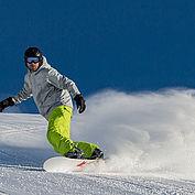 Snowboarden © Salzburger Saalachtal Tourismus
