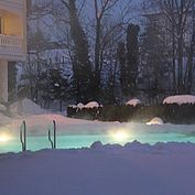 © Landhotel Eichingerbauer - Aussenpool Winter