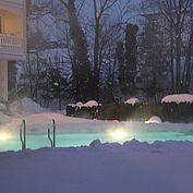 © Landhotel Eichingerbauer - Aussenpool Winter