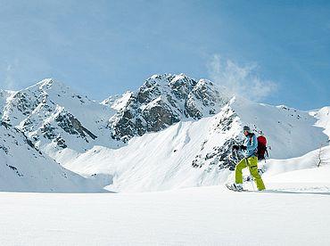 Schneeschuhwandern in Österreich mit der ganzen Familie