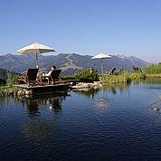 © Landhotel Edelweiss - Biotop im Sommer