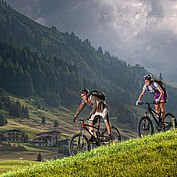 Mountainbike in Austria