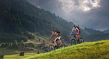 Mountainbiking Oesterreich Werbung Ronny Kiaulehn
