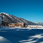 Landhotel Strasserwirt Winterlandschaft