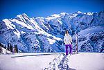 Skifahren in Gastein mit atemberaubendem Panorama