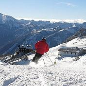 Bergpanorama Winter