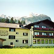 Landhotel Gasthaus Traunstein Sommeransicht nach den ersten Umbauten