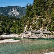 Romantische Flusslandschaft © Salzburger Saalachtal -