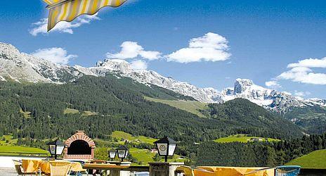 Ausblick Landhotel Salzburger Dolomitenhof