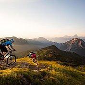 Mountainbiken am Nassfeld - © Nassfeld / Pressegger See