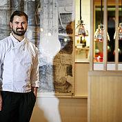 Haubenkoch Lukas Nagl - © Landhotel Das Traunsee