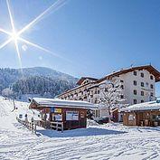 Landhotel Tirolerhof mit direkter Pistenlage