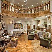 Lobby, Lounge und Eingangsbereich im Landhotel Eichingerbauer