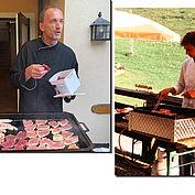 Franz Pendl am Grill
