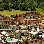 Hotelansicht Sommer Landhotel Hauserbauer
