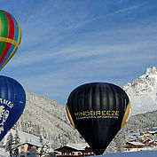 Ballonimpressionen im Winter © TVB Filzmoos