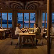 Romantik im Restaurant Bootshaus