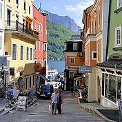 © Ferienregion Traunsee - die Altstadt von Gmunden am Traunsee