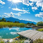 © Landhotel Presslauer - Naturschwimmteich ohne Chemie