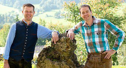 Landhotel Stockerwirt - die Chef´s Robert und Gerhard Ramsebner