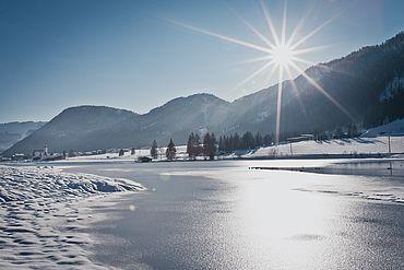 St. Ulrich am Pillersee - Winteransicht, © Kitzbüheler Alpen PillerseeTal
