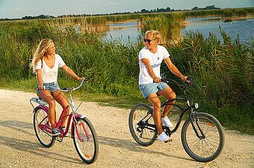Radfahren im Nationalpark Neusiedler See, (c) Neusiedler See Tourismus / motionmanager.at