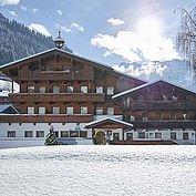 Landhotel Wiedersbergerhorn - ein Wintertraum im Alpbachtal direkt an der Skipiste