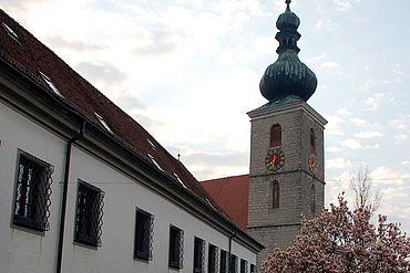 Schloss und Kirchen © Tourismusverband Sierning